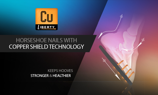 Copper Shield Technology for healthier hooves