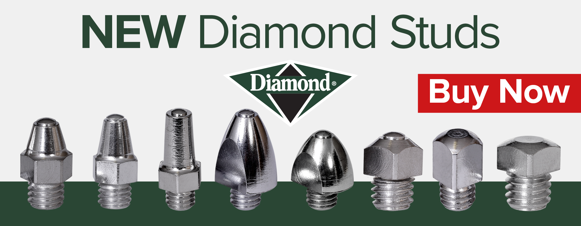 Diamond stud banner